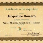 Applied Microbial Remediation Technician
