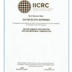 IICRC Jacqueline Romero